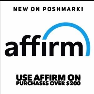 Other - AFFIRM: Automatically an option on items $200 & up